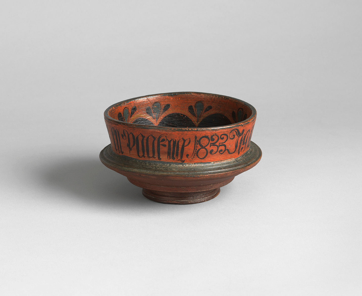 Finely Turned and Decorated Ceremonial Ale Bowl
