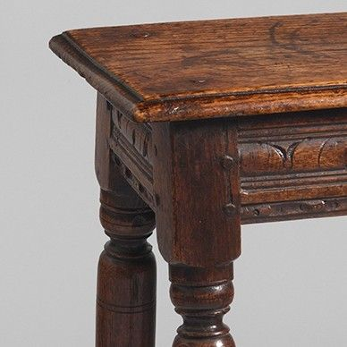 Charles II Period Joint Stool