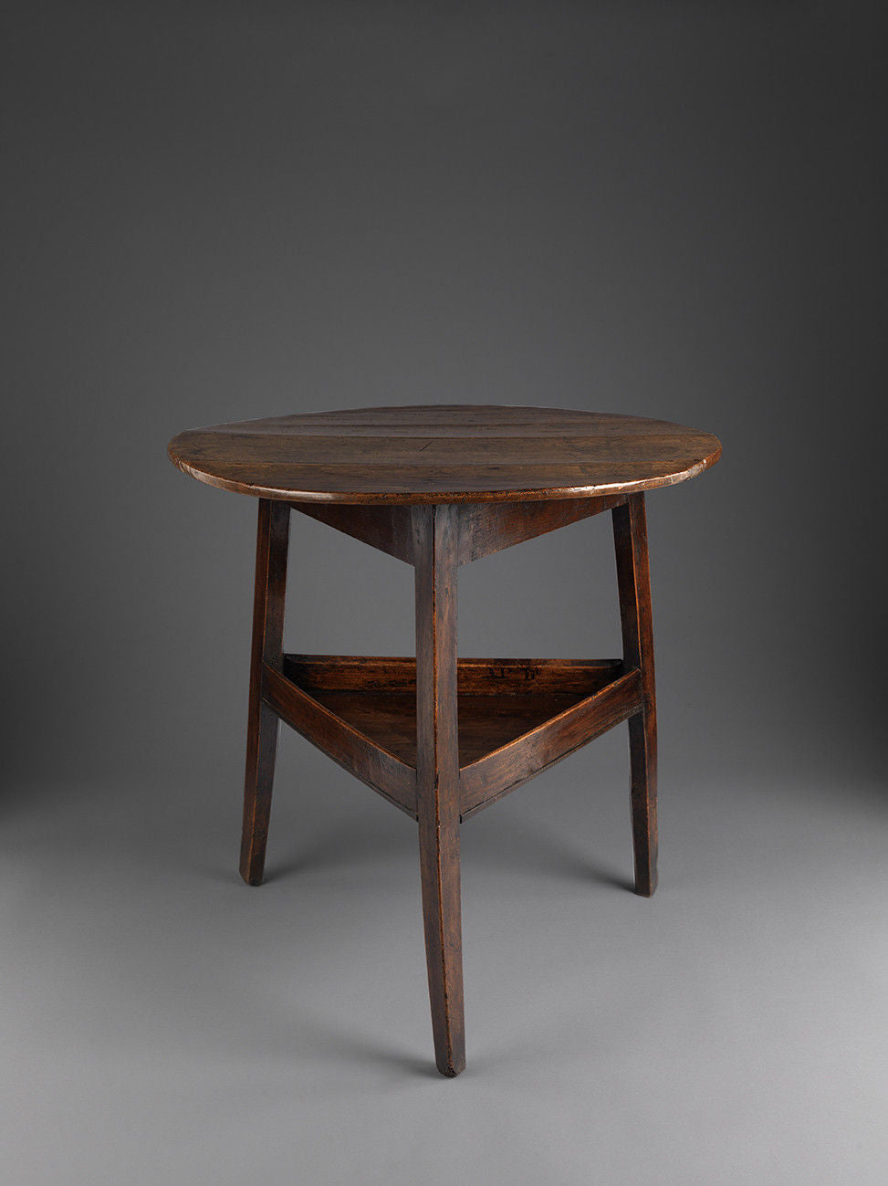 Classic Georgian Two Tier Cricket Table