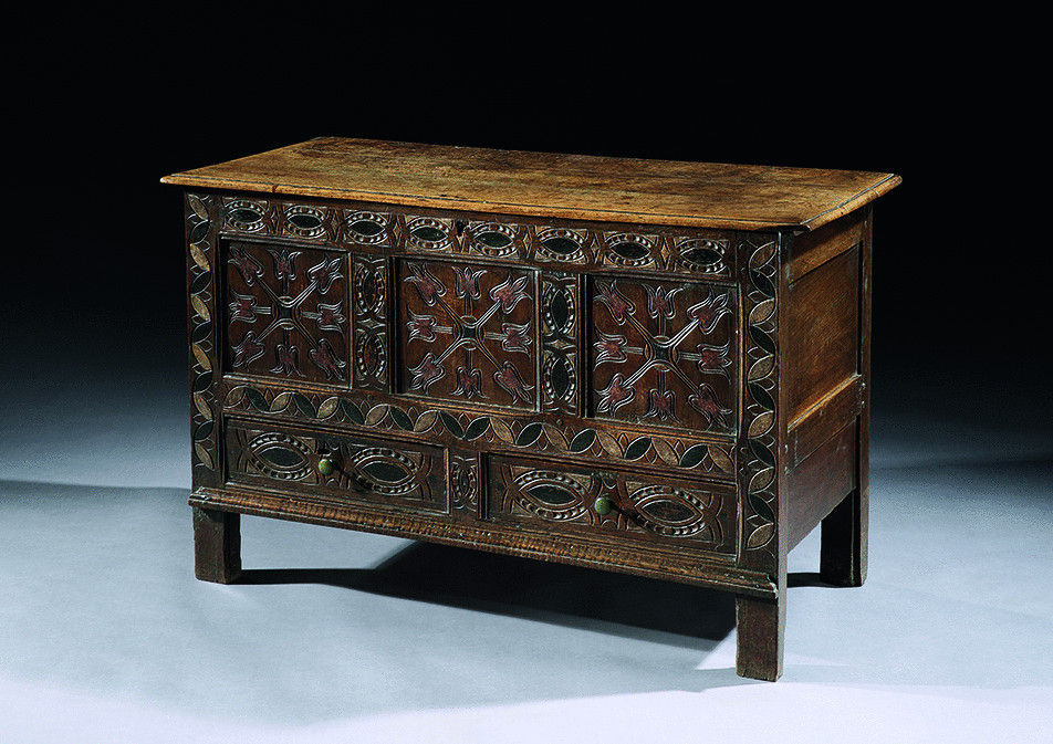 Traditional Dorset Vernacular Dowry Chest