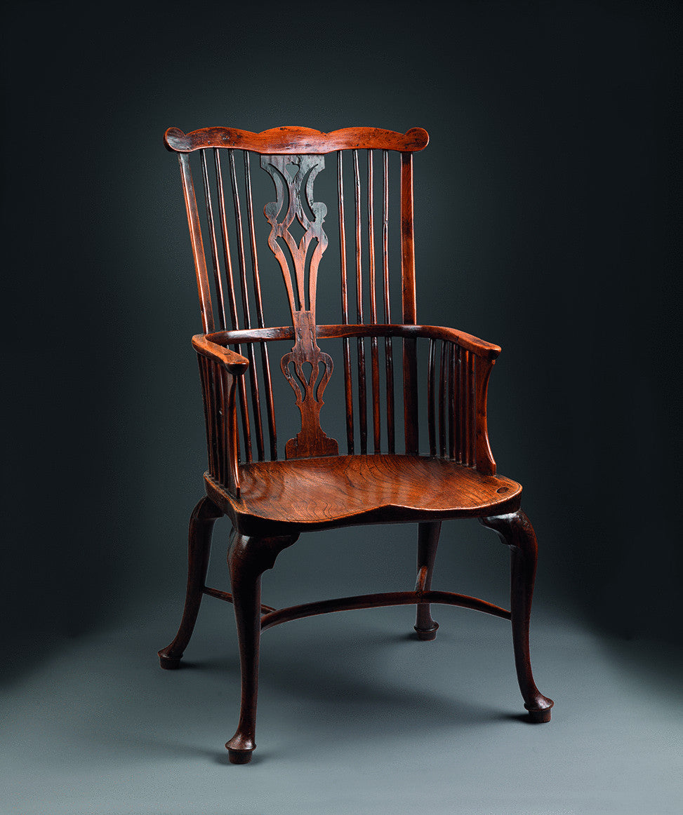 Exceptional Georgian Comb Back Windsor Armchair
