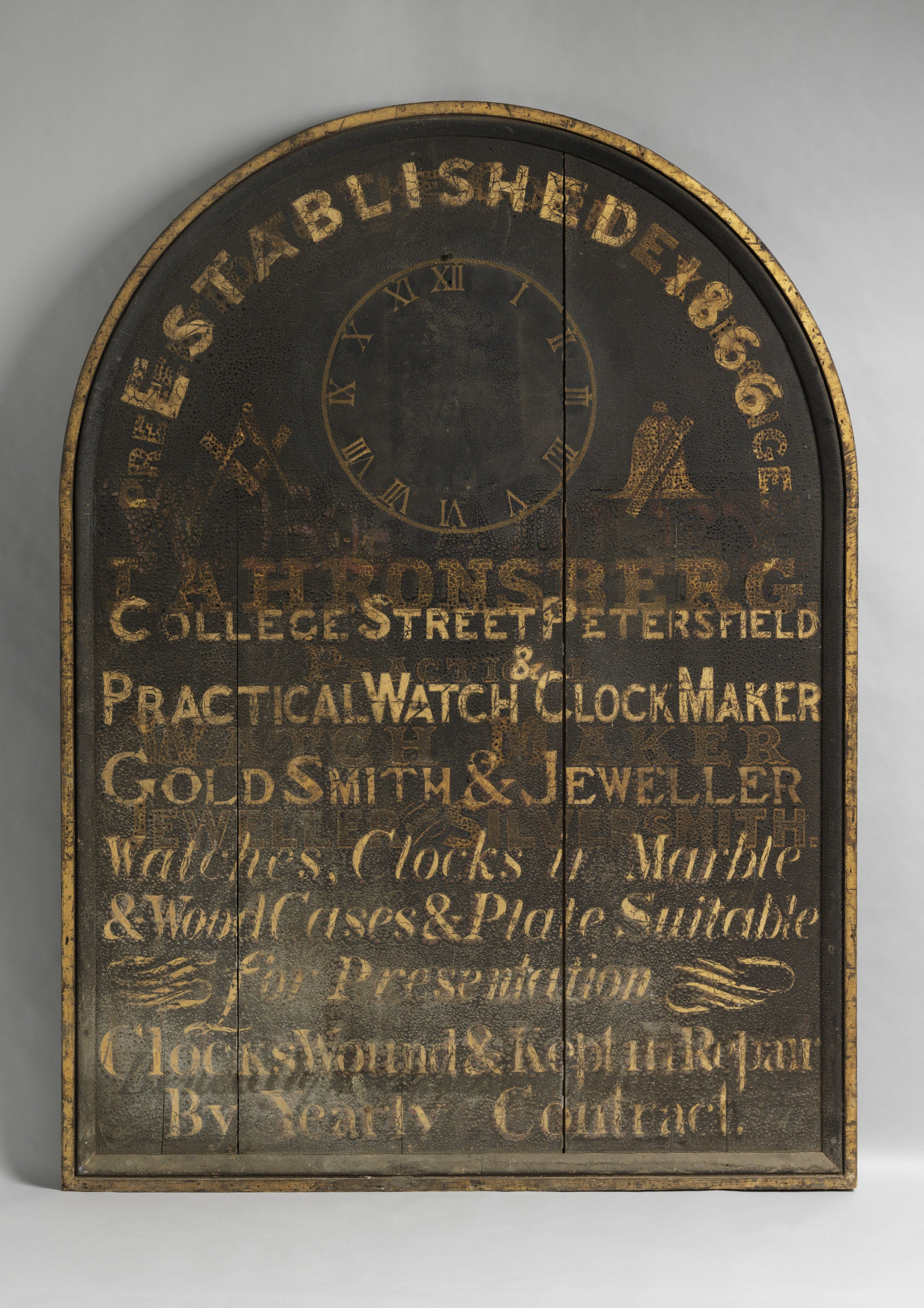Jeweller's Trade Sign