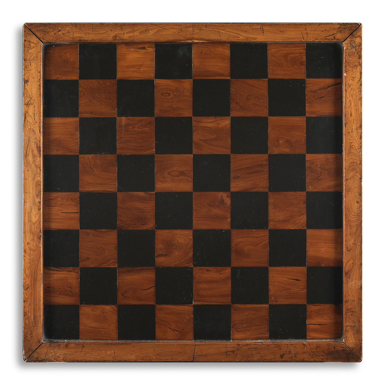 Fine Paint Decorated Double Sided Games Board