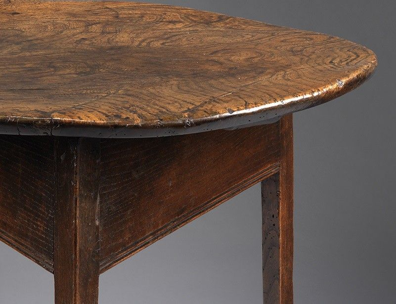 Georgian Single Plank Top Cricket Table