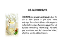 ANTI-CELLULITE BODY BUTTER 1.8oz