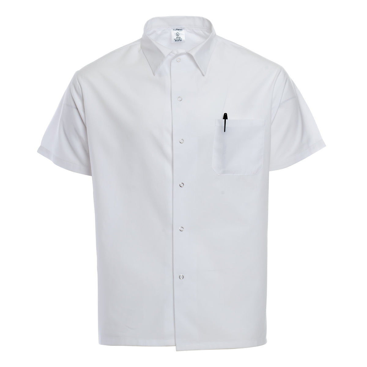 White Chef Duds Basic Cook Shirt 501