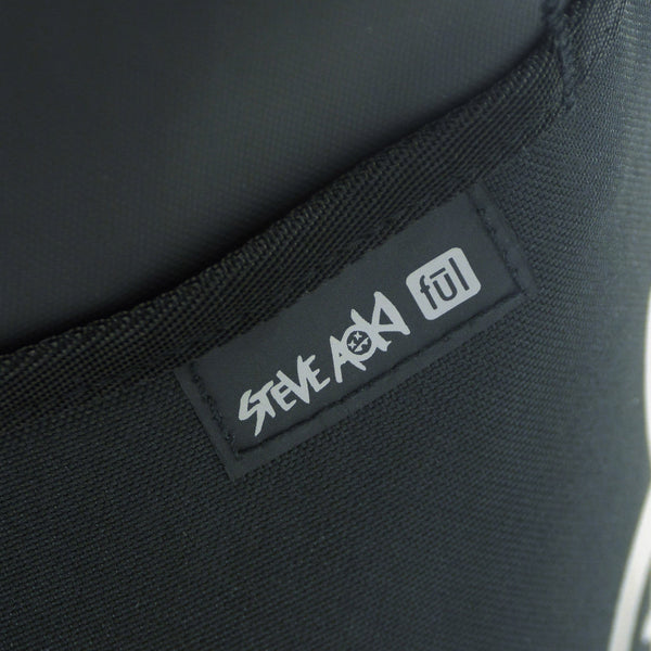 Steve Aoki FŪL FANG Rolltop Laptop Backpack - Black