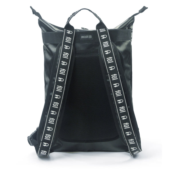 Steve Aoki FŪL FANG Convertible Backpack Tote - Black