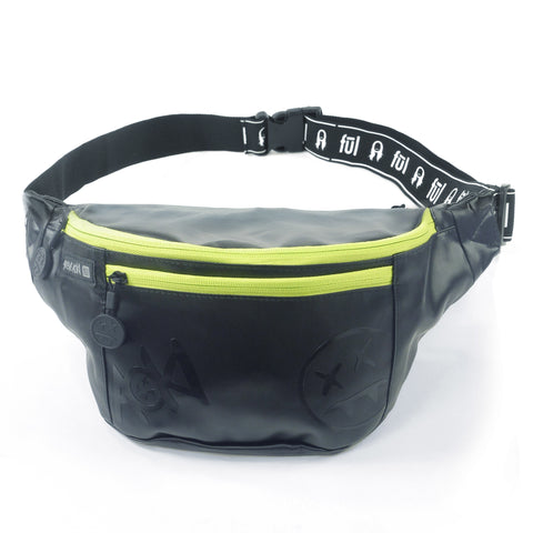 Steve Aoki FŪL FANG Crossbody Bag - Black/Neon Green