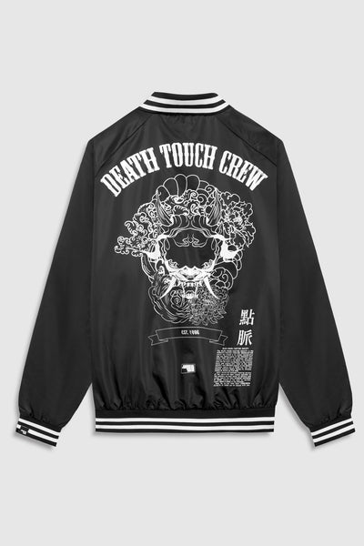 Death Touch Crew Jacket - Black