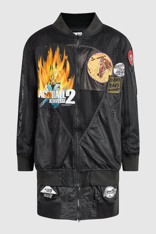 DMMK DRAGON BALL 2 PATCHED BOMBER JACKET #192