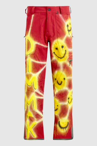 VOLCOM SMILEY PATTERN SNOW PANTS #196