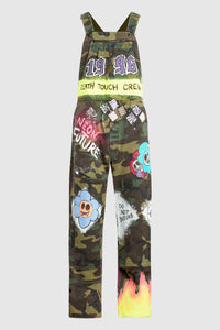 DEATH TOUCH CREW CAMO OVERALLS #197