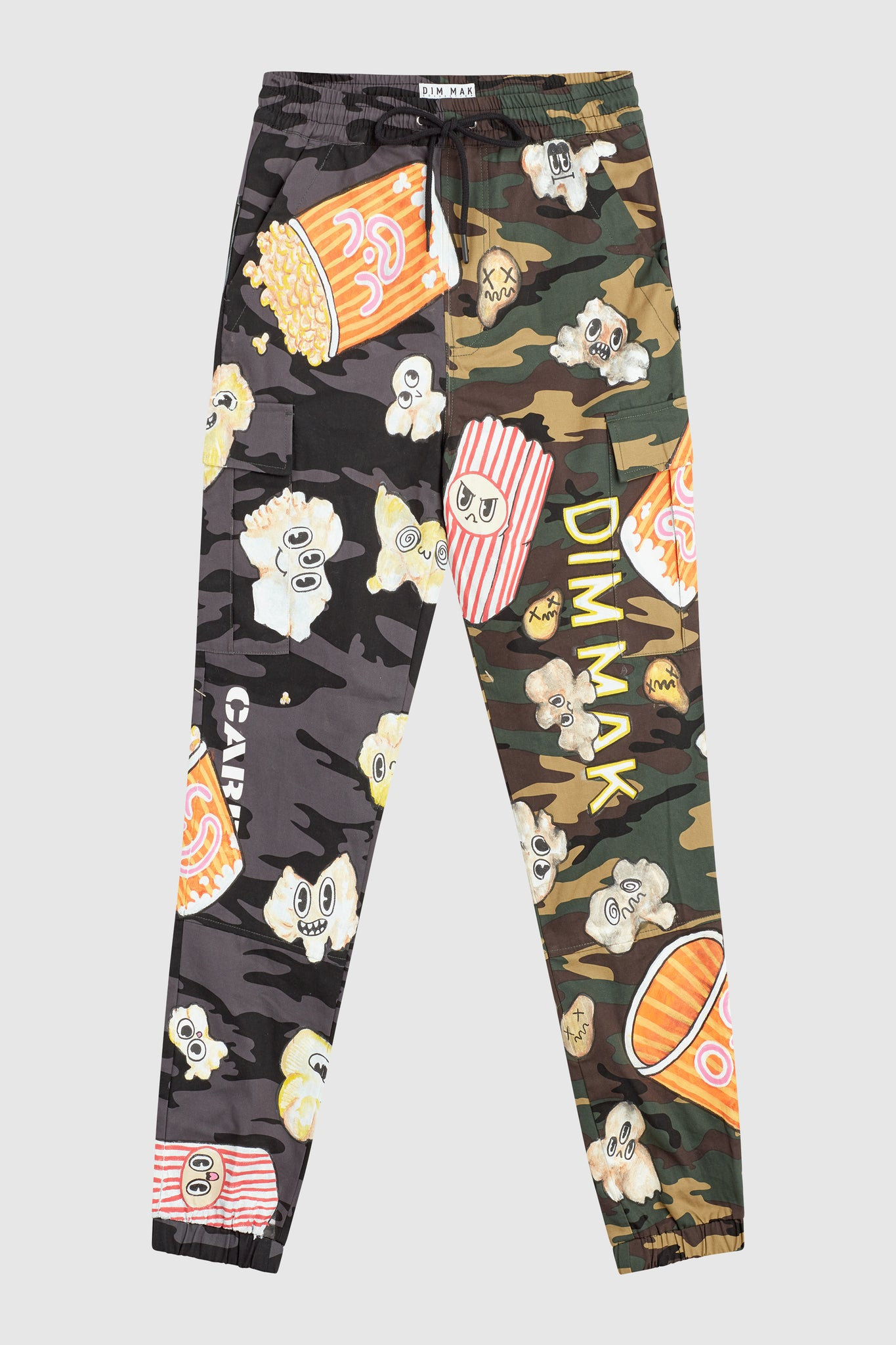 POPCORN PAINTED MIX CAMO JOGGERS #199