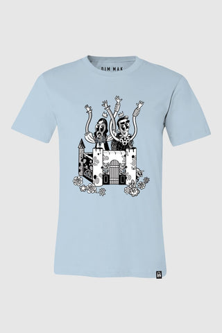 Crash Into Me Men's Tee - Blue