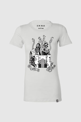 Crash Into You Women's Tee - White