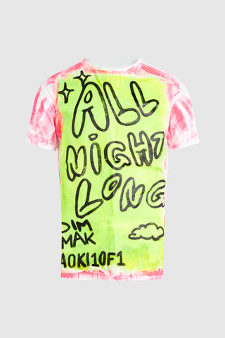 BASSJACKERS I WANNA RAVE LIGHTNING TEE #159