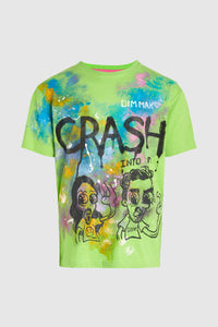 Steve Aoki + Darren Criss Crash Into Me Painted Tee #55