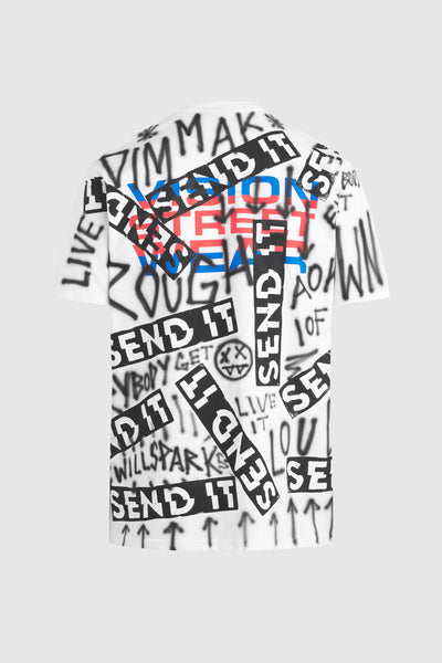 SEND IT GRAFFITI SHIRT #139