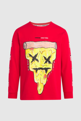 PIZZA AOKI LONGSLEEVE SHIRT #138