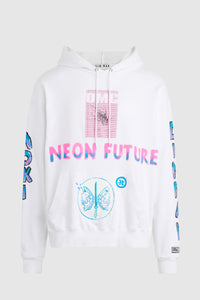 NEON FUTURE HOODIE #137 (archival)