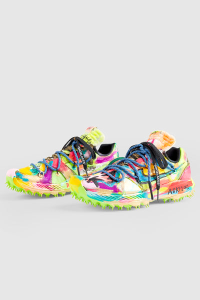 I WANNA RAVE ALL NIGHT SNEAKERS #144