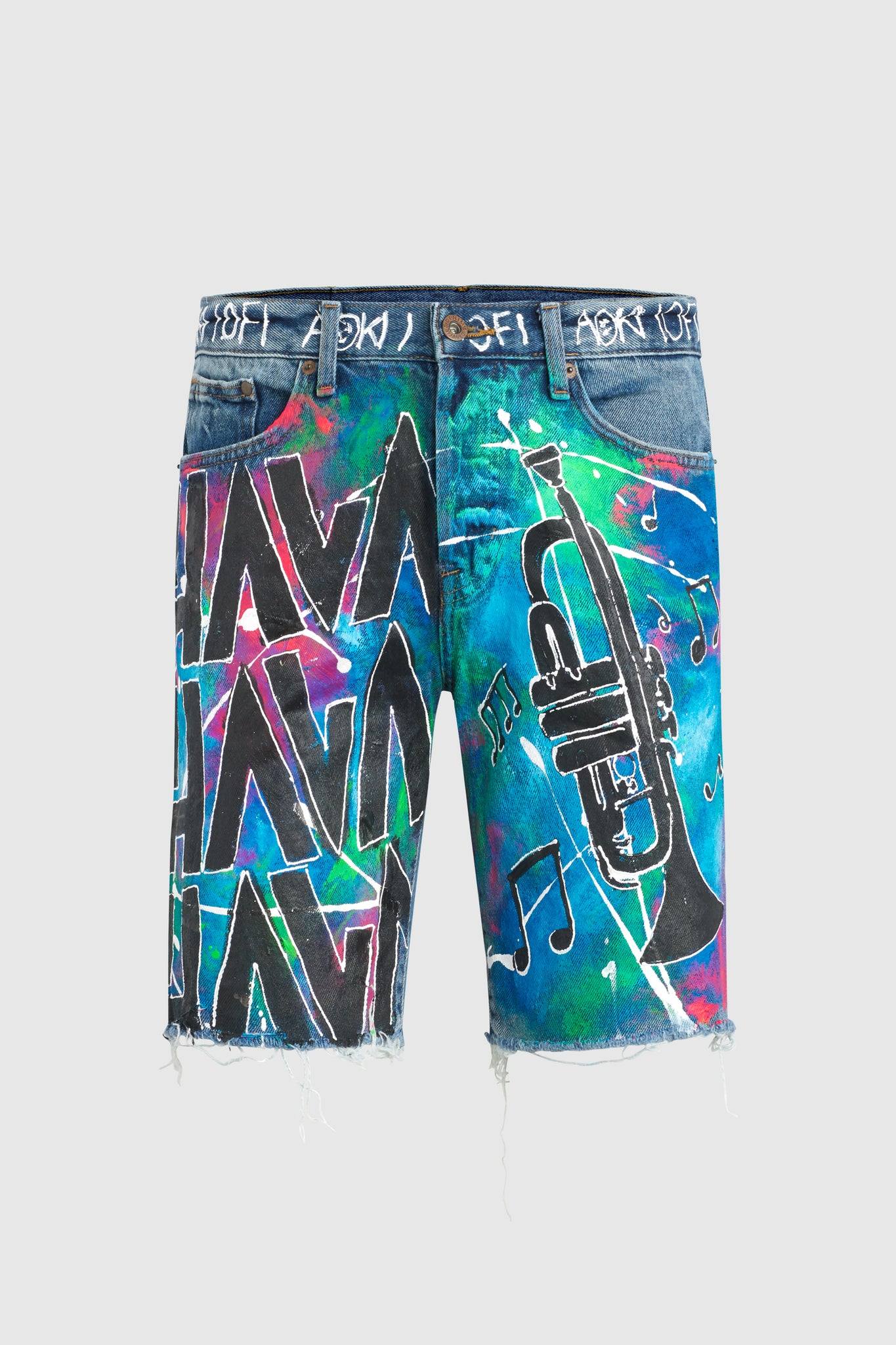 Hava Splatter Shorts #119 (custom for Timmy Trumpet)