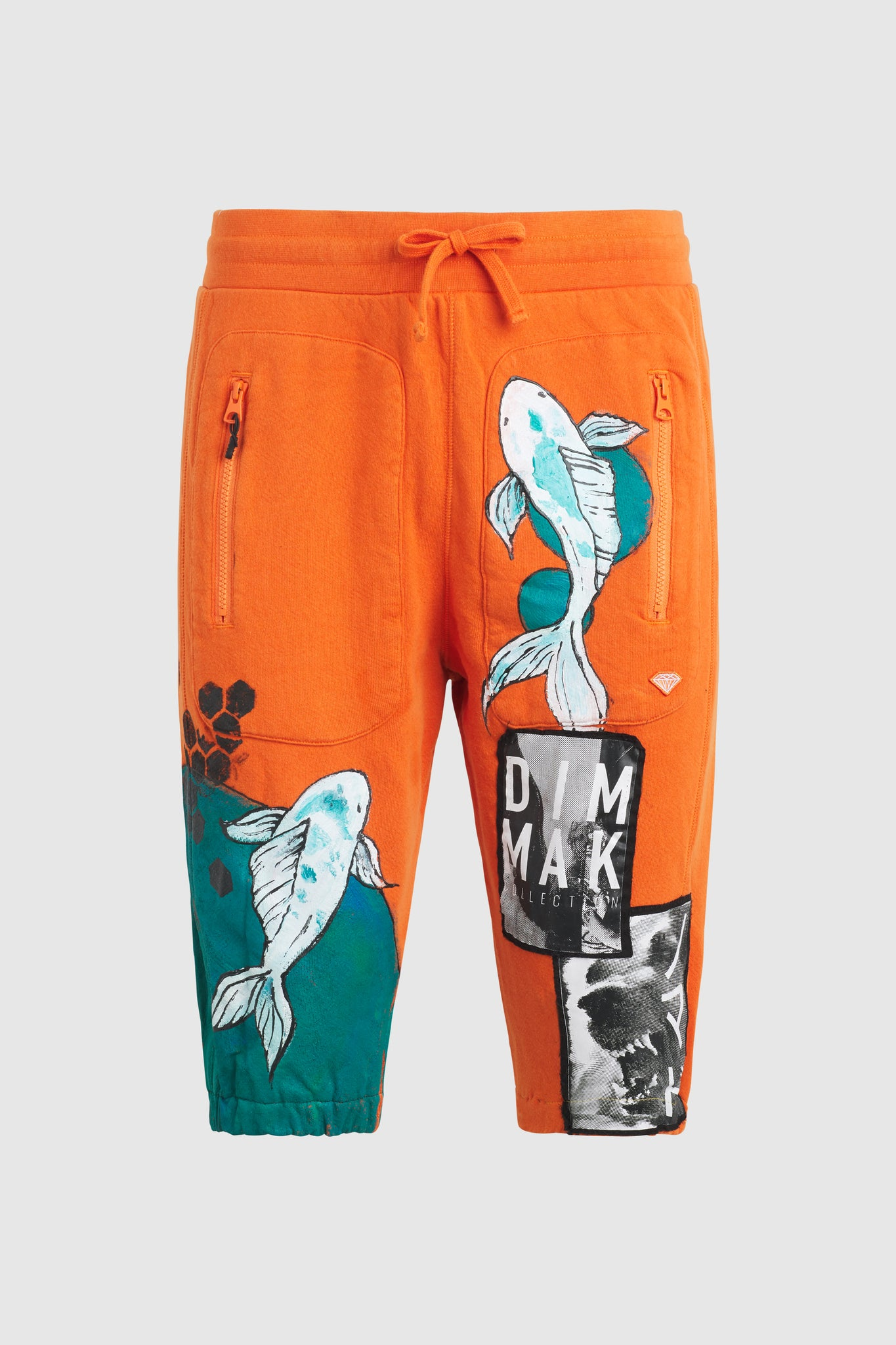 DMMK Koi Fish Shorts - Diamond Supply #98