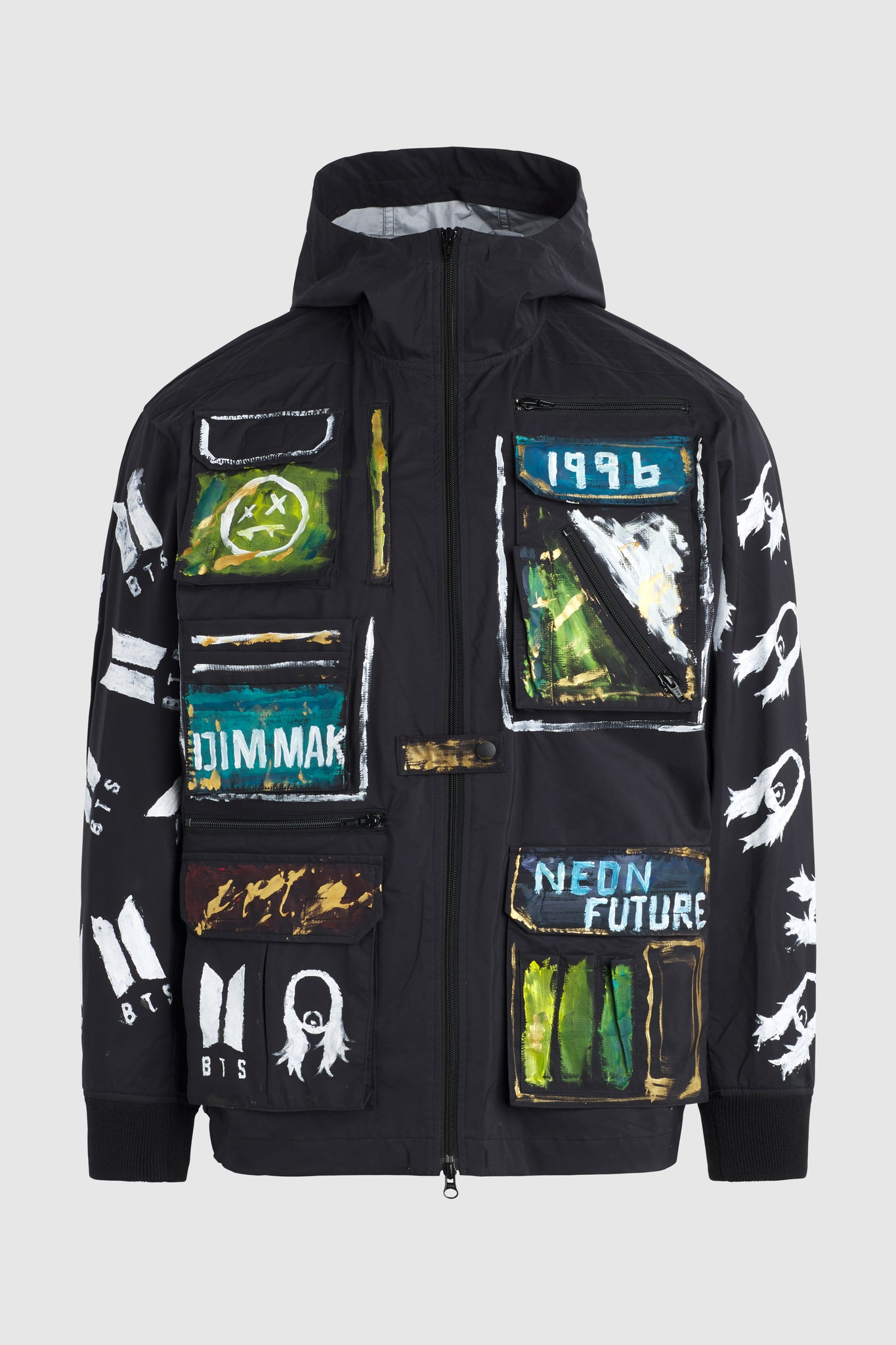 The Wasted It On Me Club Windbreaker Jacket #111 (archival)