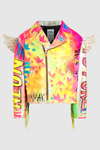 Neon Future Rainbow Wings Jacket - Jeremy Scott #109