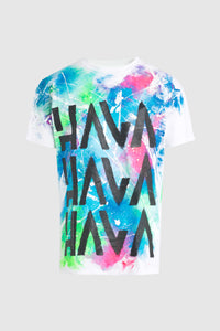 Hava Splatter T-Shirt #92 (Custom for Timmy Trumpet)
