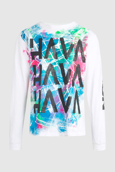Hava Splatter Long Sleeve Shirt #93