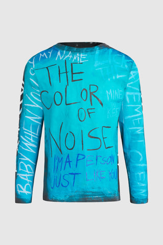 The Color of Noise Long Sleeve Tee Shirt #96