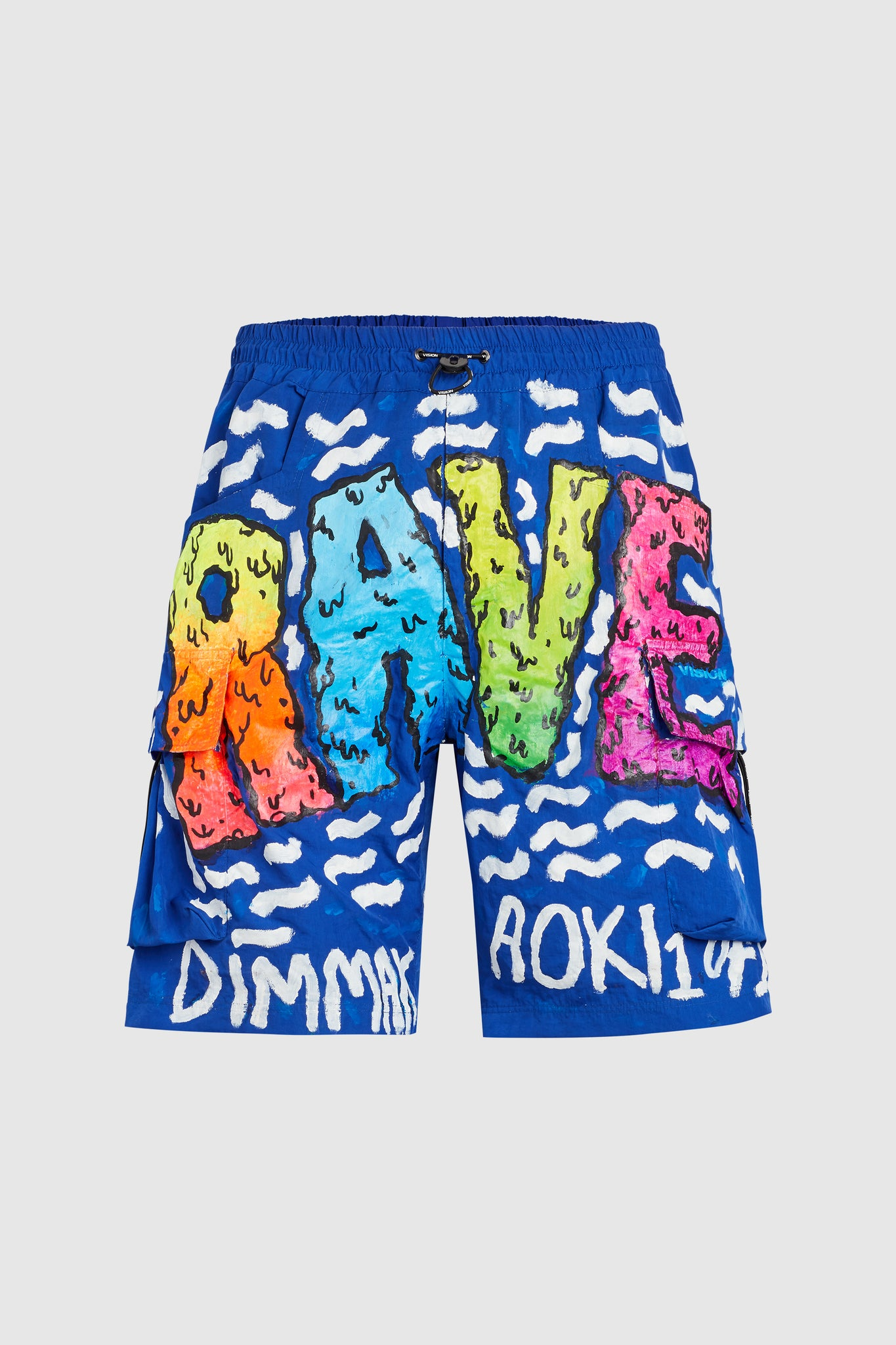 DRIPPY RAVE BOARD SHORTS #83