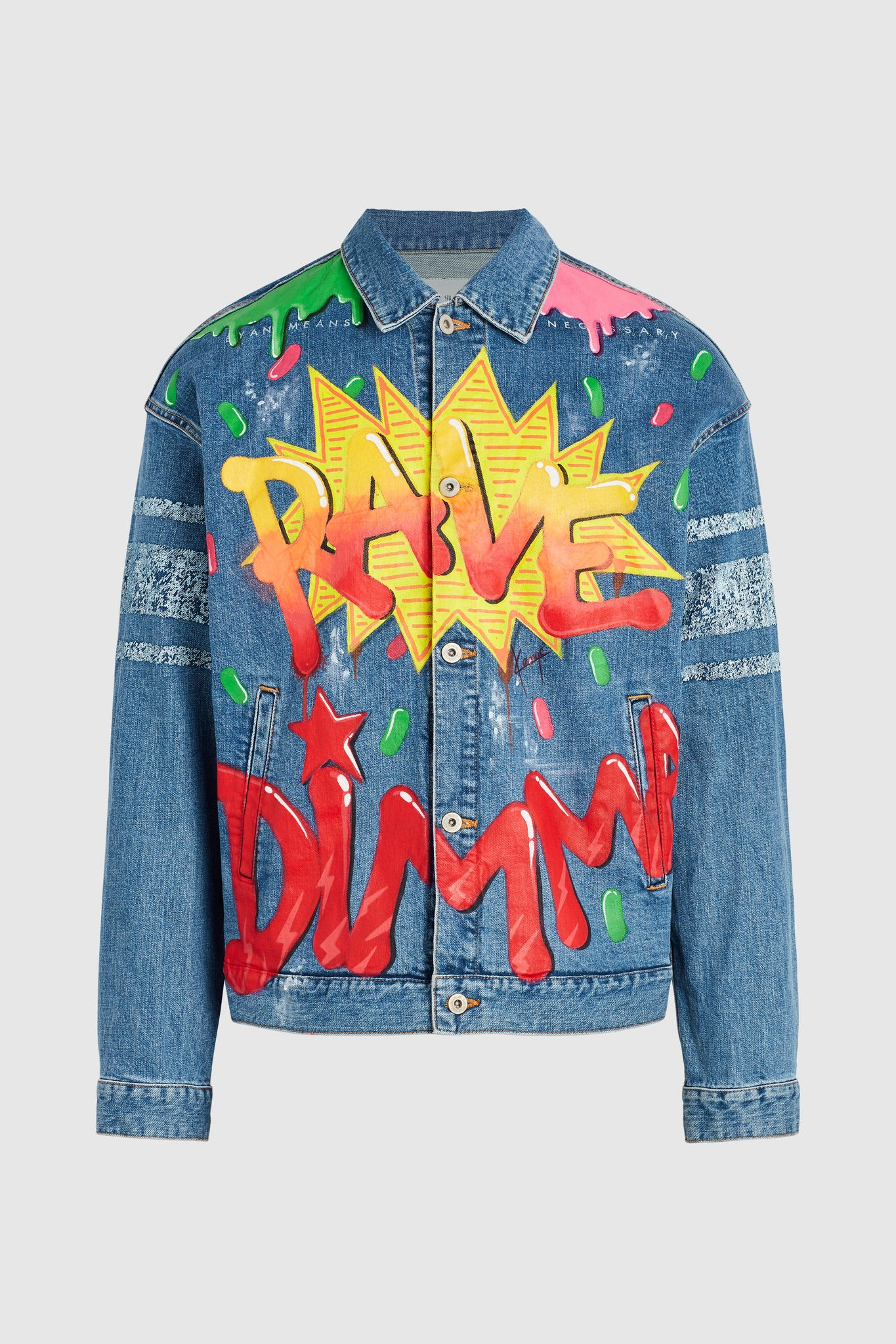 RAVE DENIM JACKET AOKI-CHOW #84