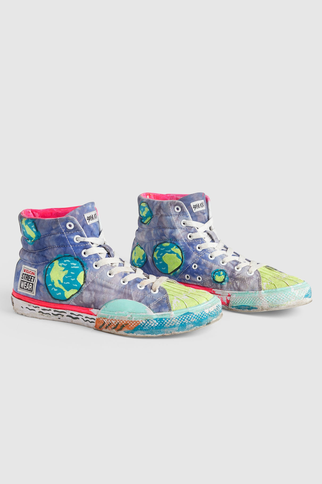 VSW PAINTED EARTH SNEAKERS #69