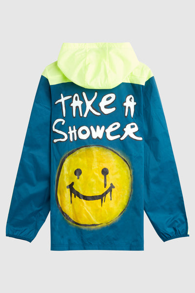 Take A Shower Dim Mak x Columbia Windbreaker #241
