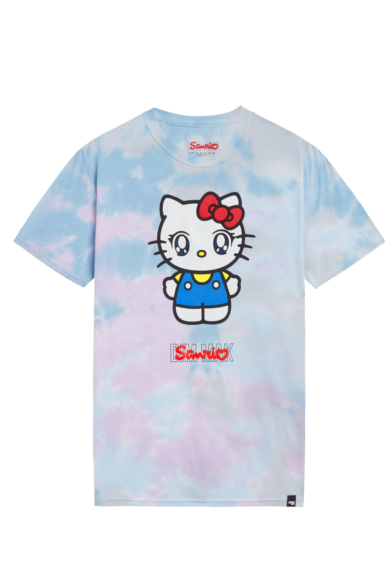 "Dim Mak x Sanrio - ""Hello Kitty Tee"" – Galaxy Tie Dye"