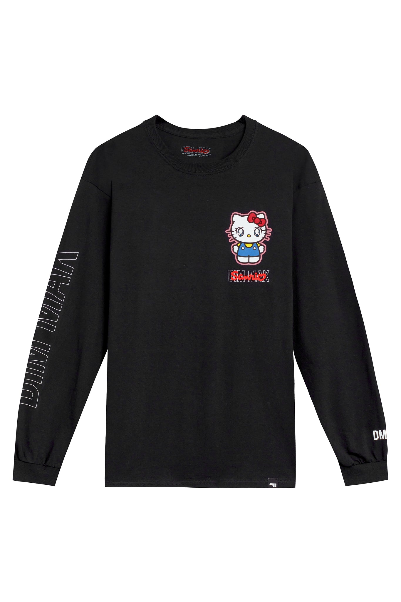 "Dim Mak x Sanrio - ""Hello Kitty Long Sleeve Tee"" – Black"