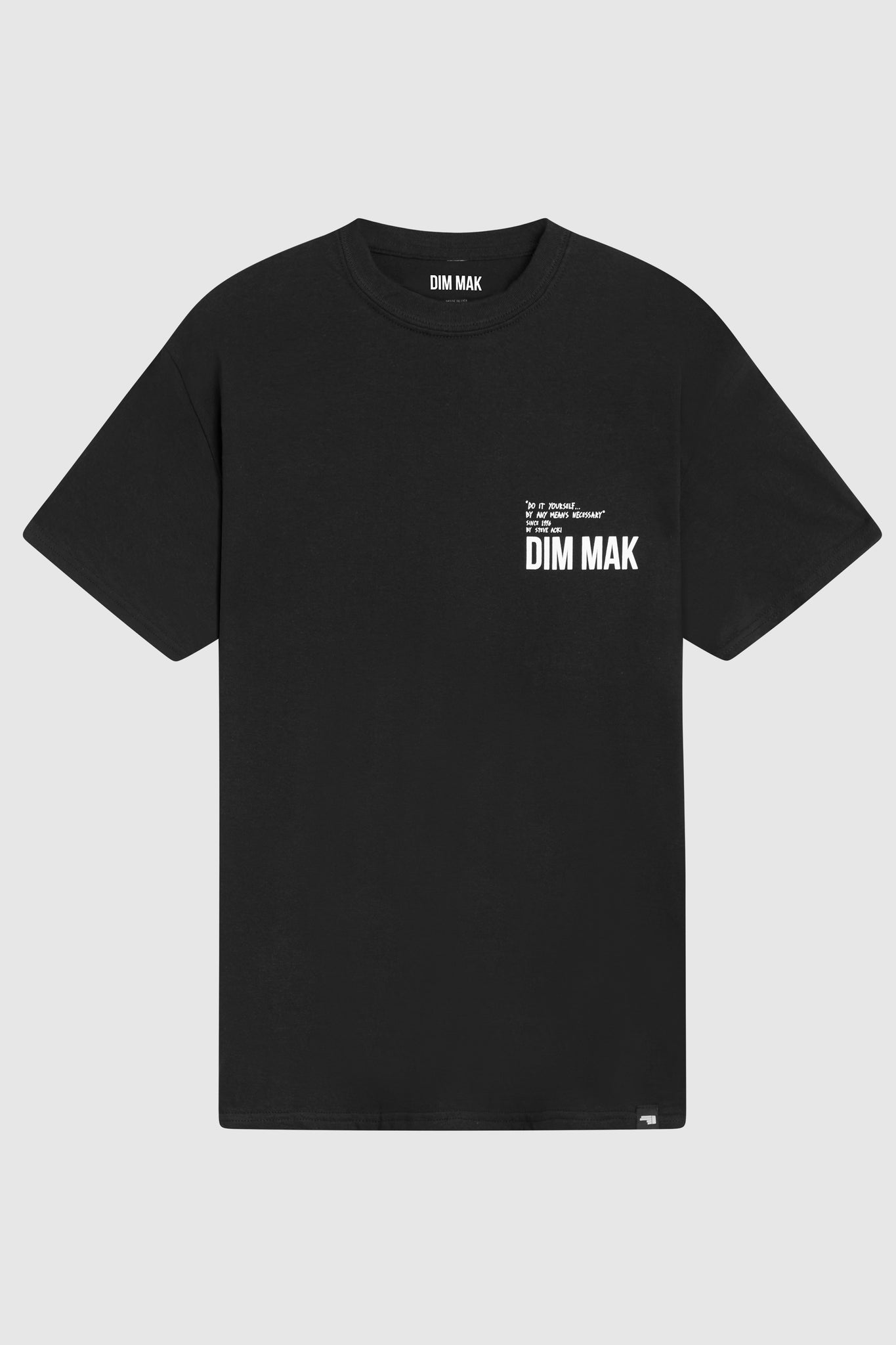Dim Mak Essential 2.0 Short Sleeve Tee - Black