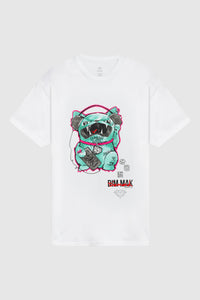 DIAMOND SUPPLY CO x DIM MAK - Lucky Coco Tee - White