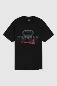 DIAMOND SUPPLY CO x DIM MAK - Logos Tee