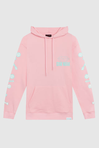 DIAMOND SUPPLY CO x DIM MAK - CoCo Hoodie - Pink
