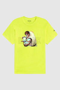 Dim Mak x Street Fighter Hadoukan Tee - Safety Yellow