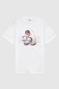 Dim Mak x Street Fighter Hadoukan Tee - White
