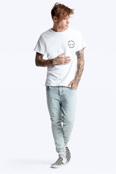 Dim Mak Essential Short Sleeve Tee - White
