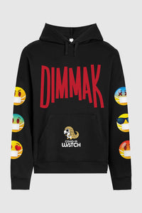 Keep Your Distance Emoji Hoodie
