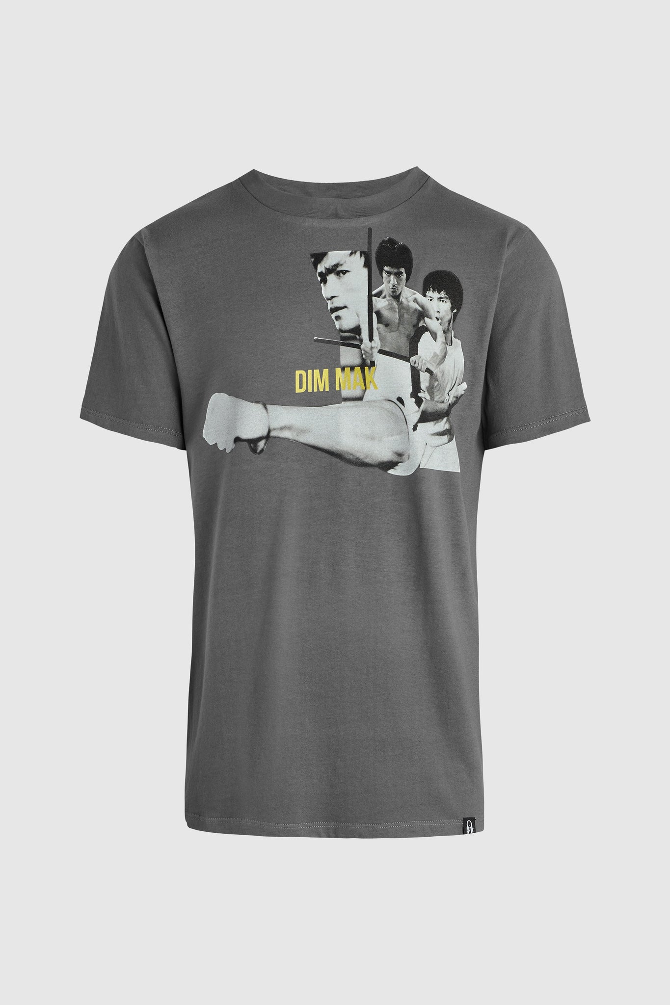 Bruce Lee Fist Tee - Grey