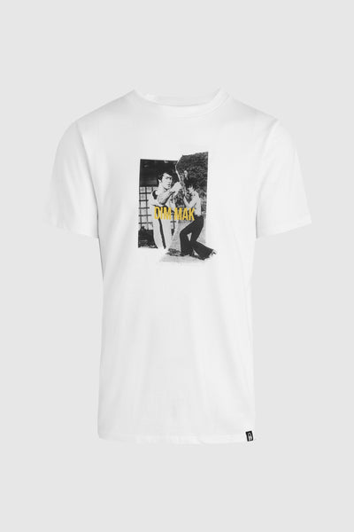 Bruce Lee Teaser Tee - White