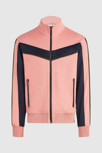 Nadya 2 Track Jacket - Coral/Navy/Hunter